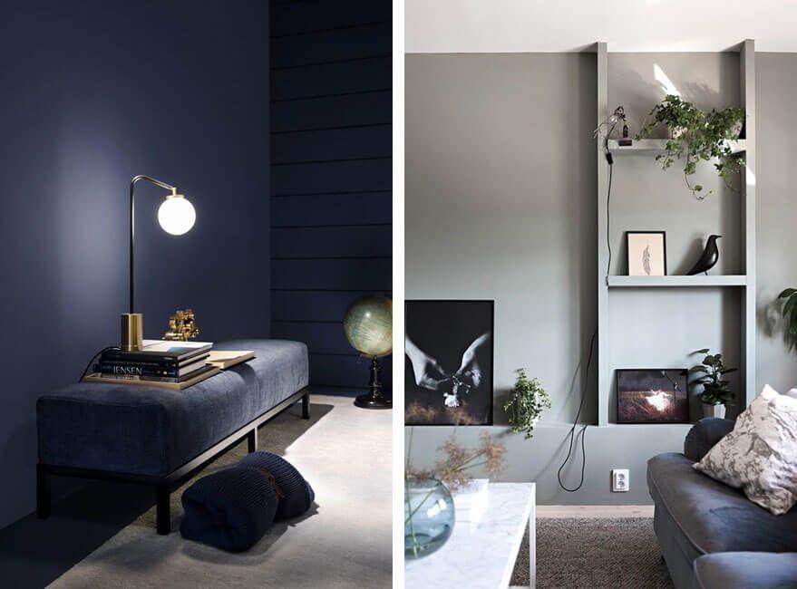 ¿Quieres un truco infalible para conseguir más espacio? Mimetiza los muebles con la pared pintándolos del mismo tono ¡verás que no falla!