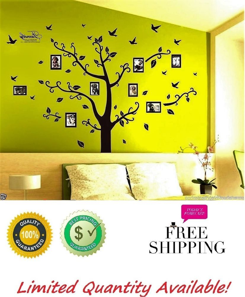 Family Wall Tree Vinyl Decal Sticker Art Mural Home Decals Branch ...