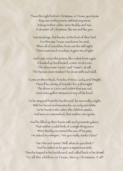 Twas The Night Before Christmas Soldier Poem