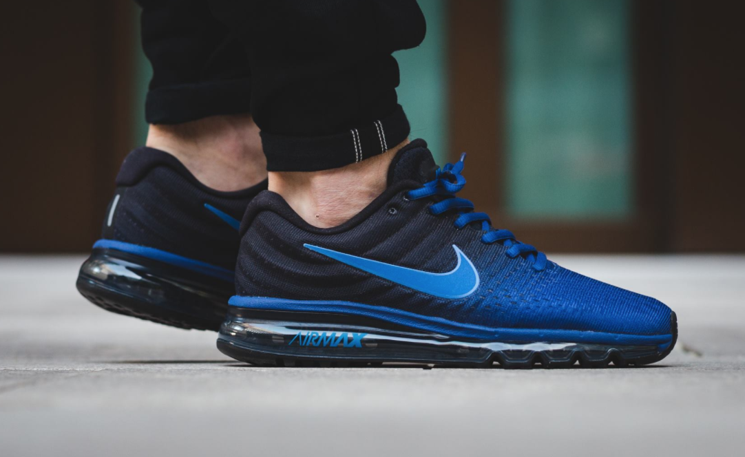 Deep Royal Blue Highlights The Latest Nike Air Max 2017