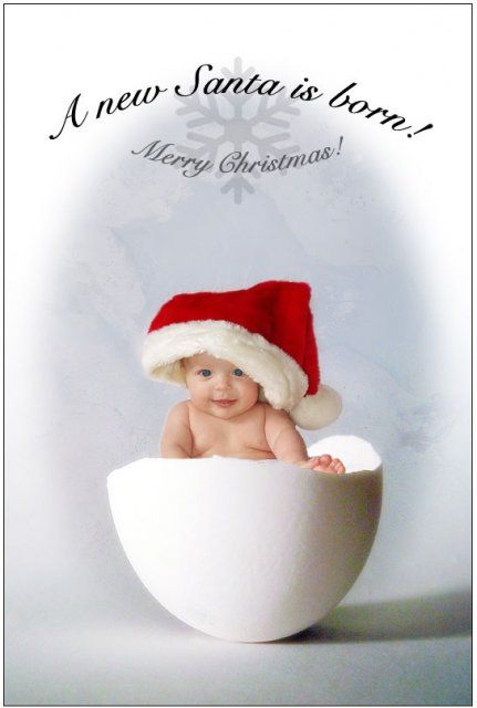 Santa Cute Baby Wallpapers