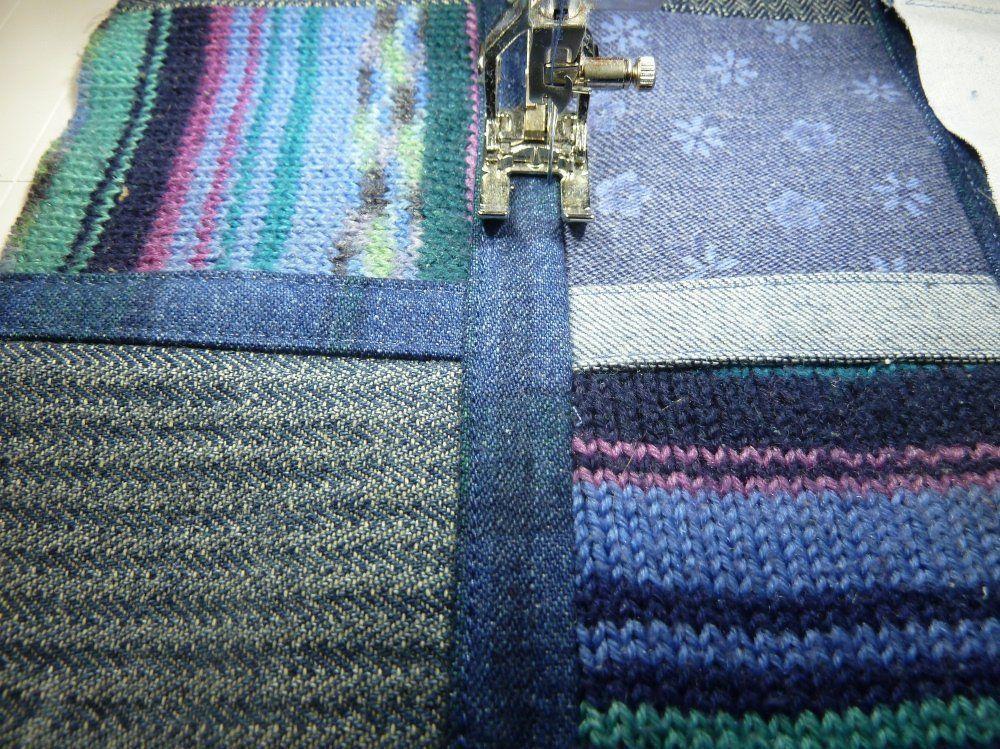 Alte Jeans Alte Socken Neue Tasche Alte Jeans Taschen Und