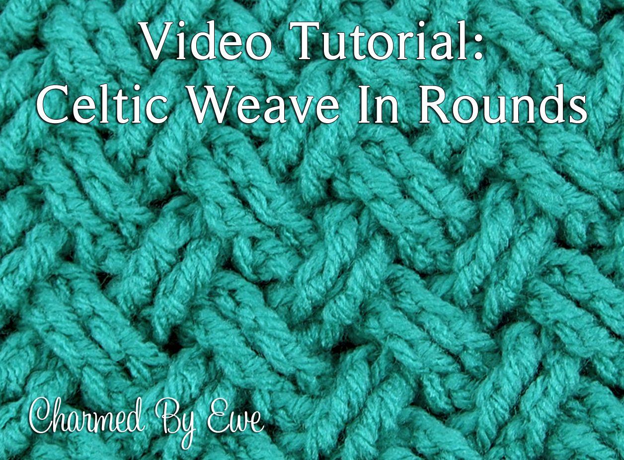 Tutorial: armadura céltica Diagonal en las Rondas | Crochet 9a ...
