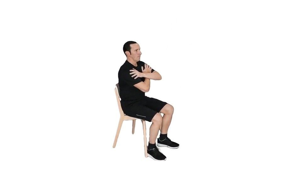 How To Master Chair Squats To Stay Active In The Office In 2020 Squats Gain Muscle Physical Health
