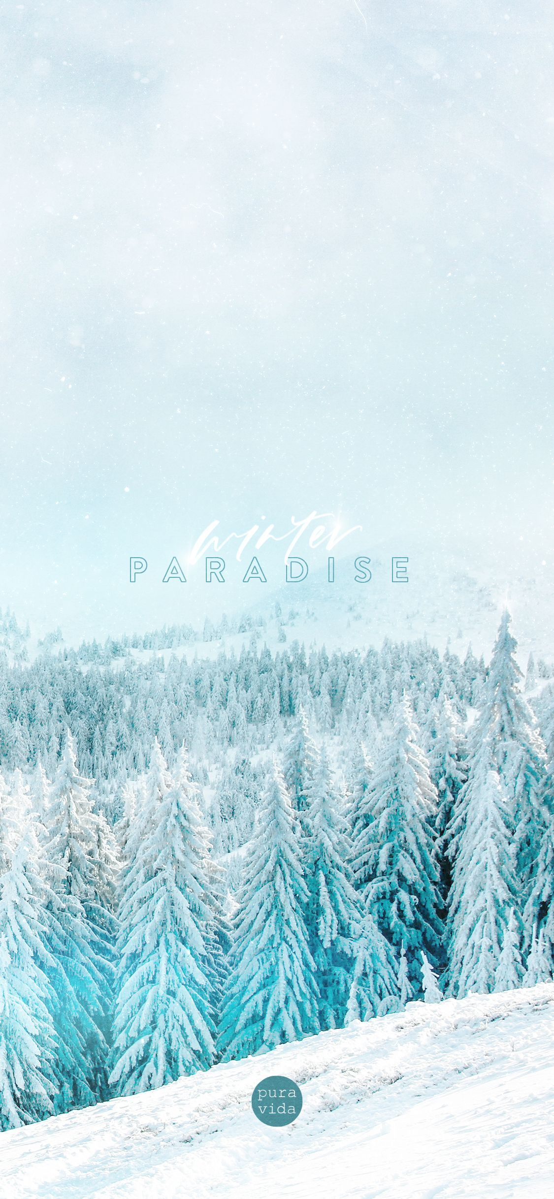 Winter Paradise Puravidabracelets Digi Downloads Background Winter Wallpaper Iphone Wallpaper Winter Wallpaper