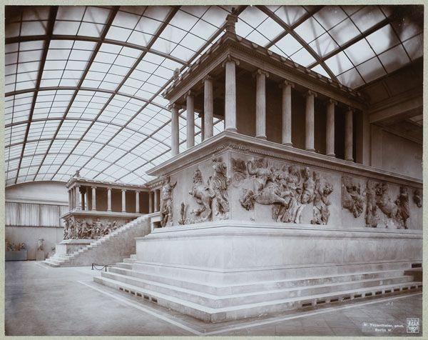 The Pergamon Museum Berlin Germany Stunning Antiquities Pergamon Pergamon Museum Greece Architecture