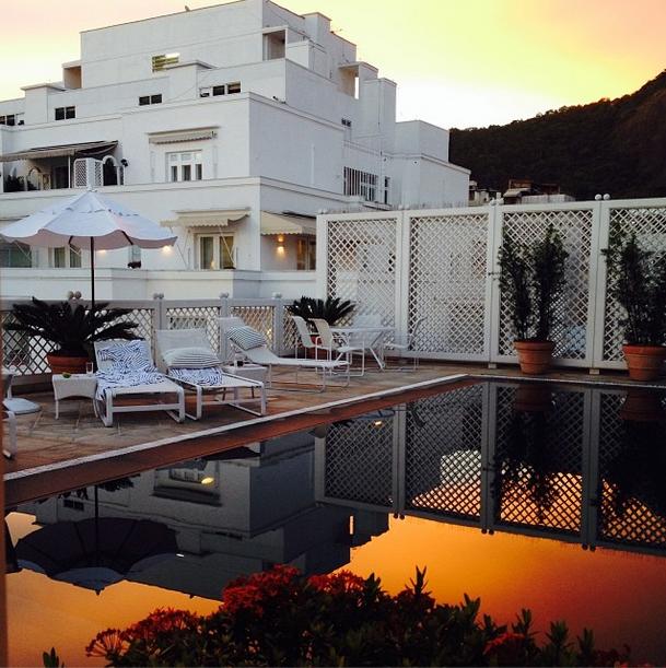 Por do sol na black pool , final de férias #CopacabanaPalace