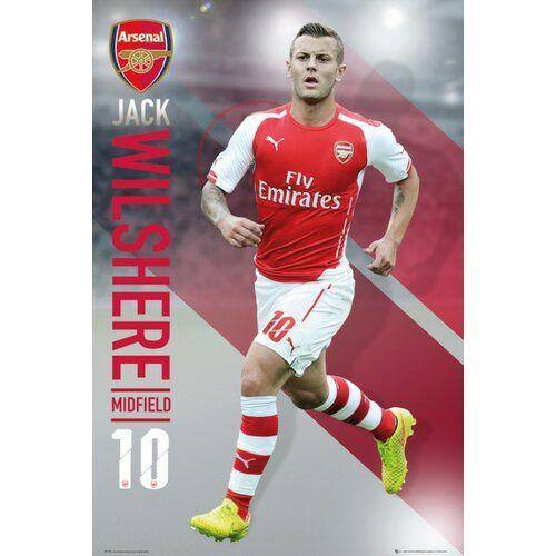 Arsenal Wilshere 14/15 Wall Art Poster 1Art1