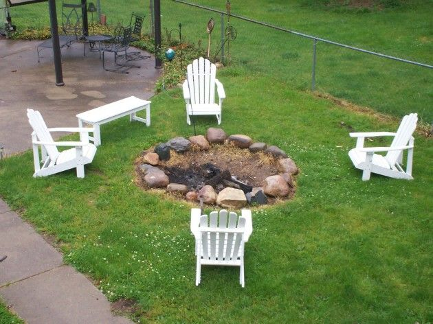 Easy Way to Entertain in Your Yard with a Simple Fire Pit – J's How To - Simple+Outdoor+Fire+Pit+Ideas Easy Way To Entertain In Your Yard
