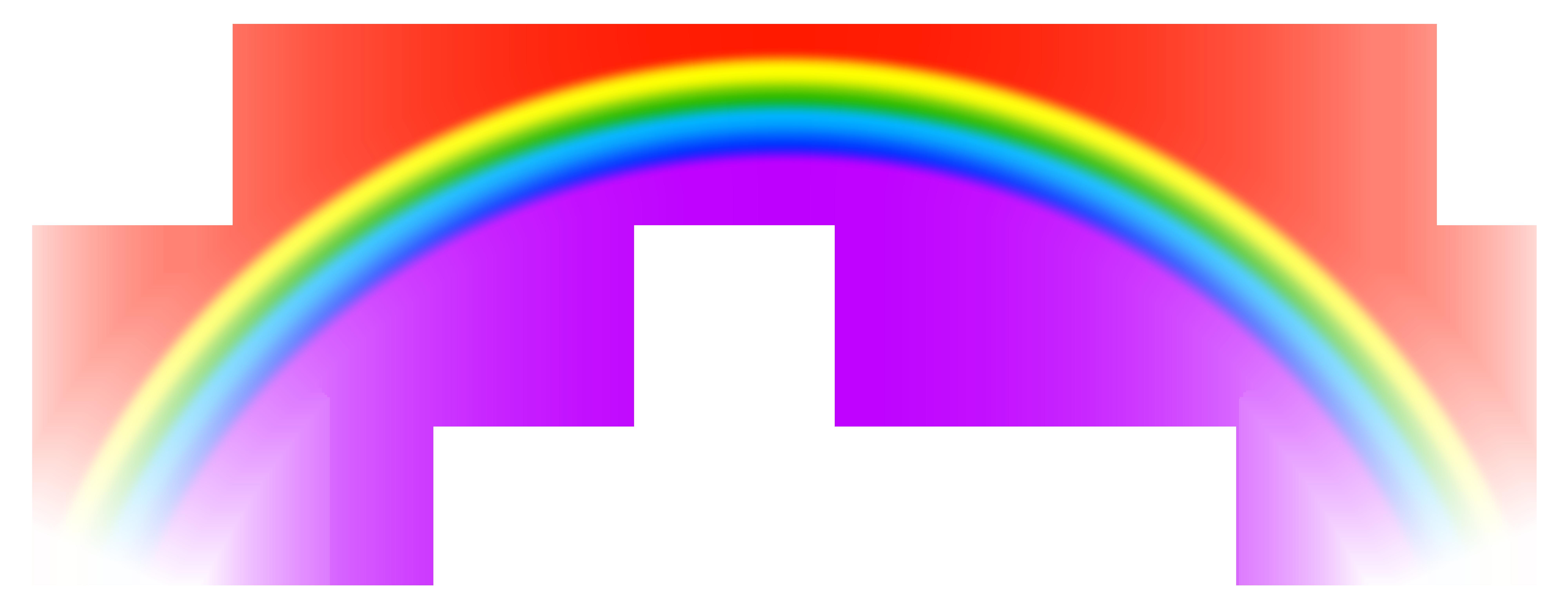 Transparent Rainbow PNG Free Clip Art Image | Free clip art