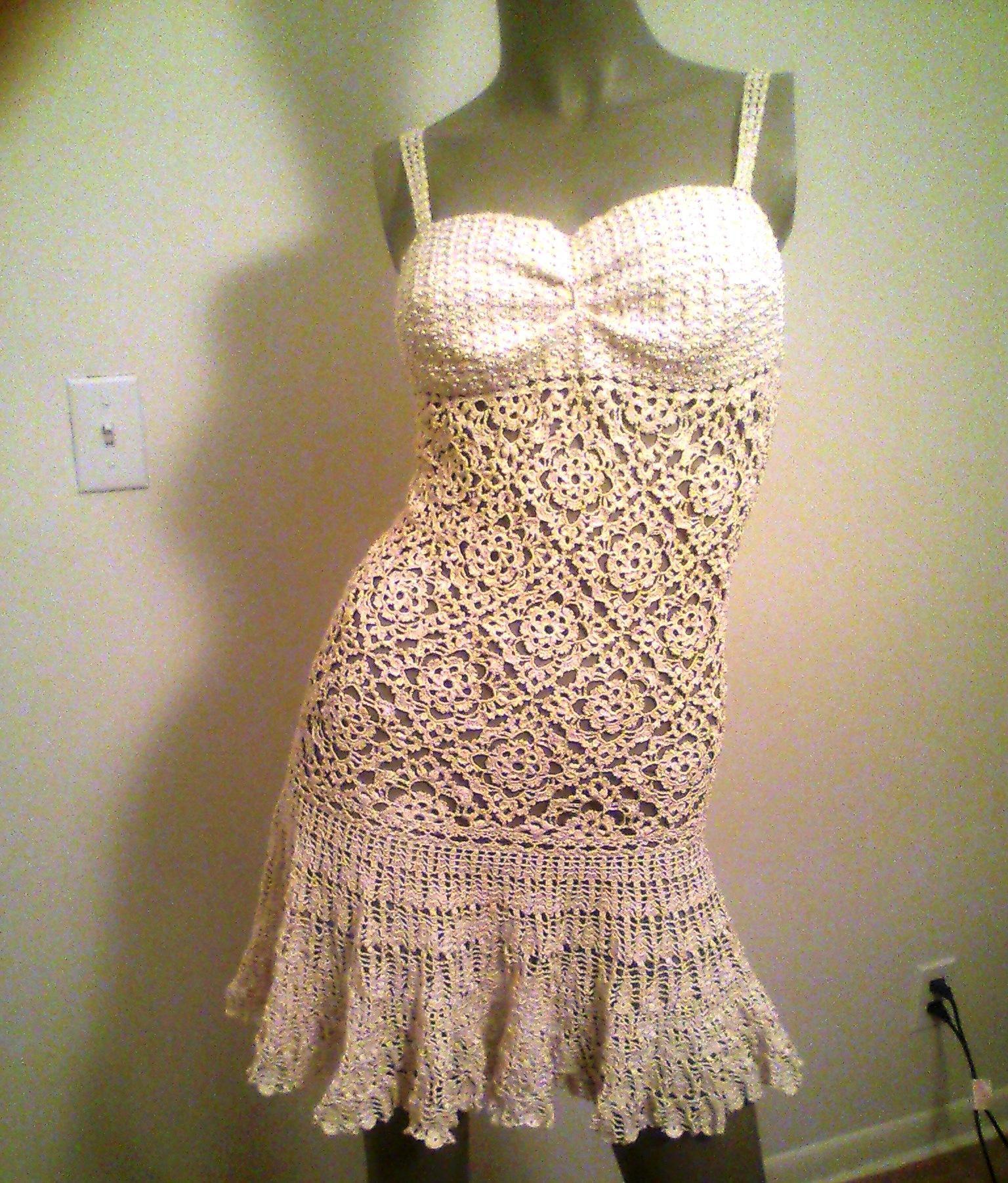 Barbiecrochetballgownpatternsfree Barbie Evening Gown Crochet