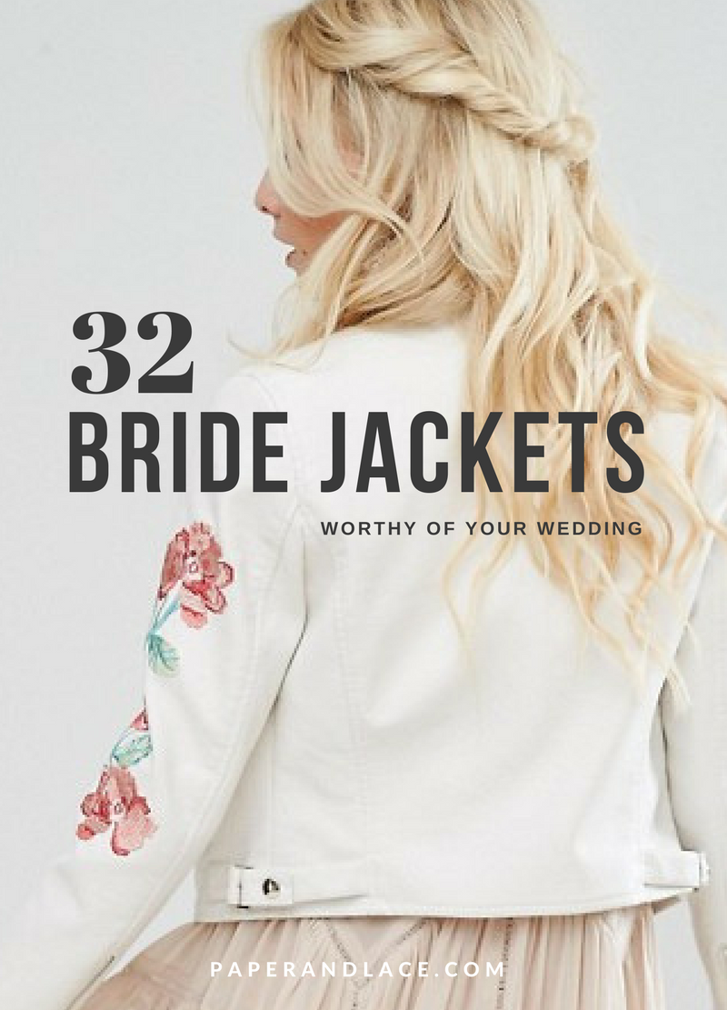 37 Unique Bride Jackets To Keep You Warm Cool At Your