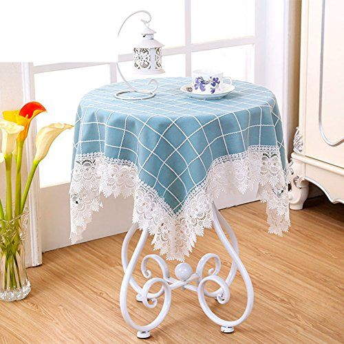 Tre Outdoor Coffee Table Tablecloth Fabric Living Room Lace Table