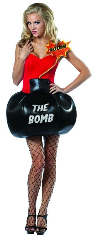 Shes The Bomb Adult Costume #sexy womens costumes #sexy halloween costumes  sc 1 st  Pinterest & Shes The Bomb Adult Costume | THEME: Sexy Womenu0027s Costumes ...