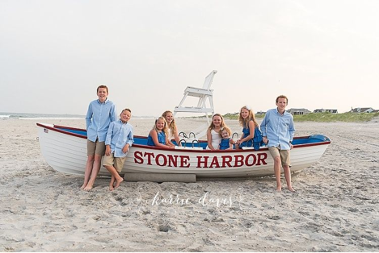 The perfect photo of kids in a beach photo session. Stone Harbor NJ