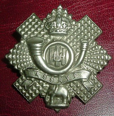 Cap #badges-original ww1 long scroll highland #light #infantry hli scarce,  View more on the LINK: http://www.zeppy.io/product/gb/2/272312073898/