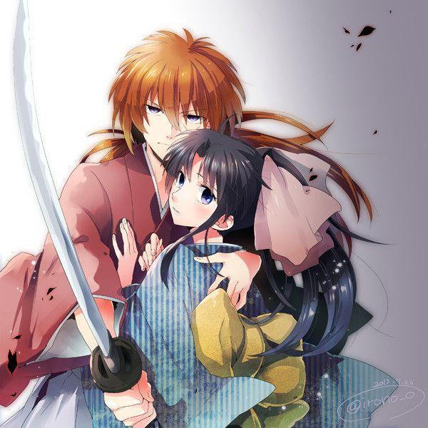 rurouni kenshin, kenshin himura, kaoru kamiya | Anime and ...
