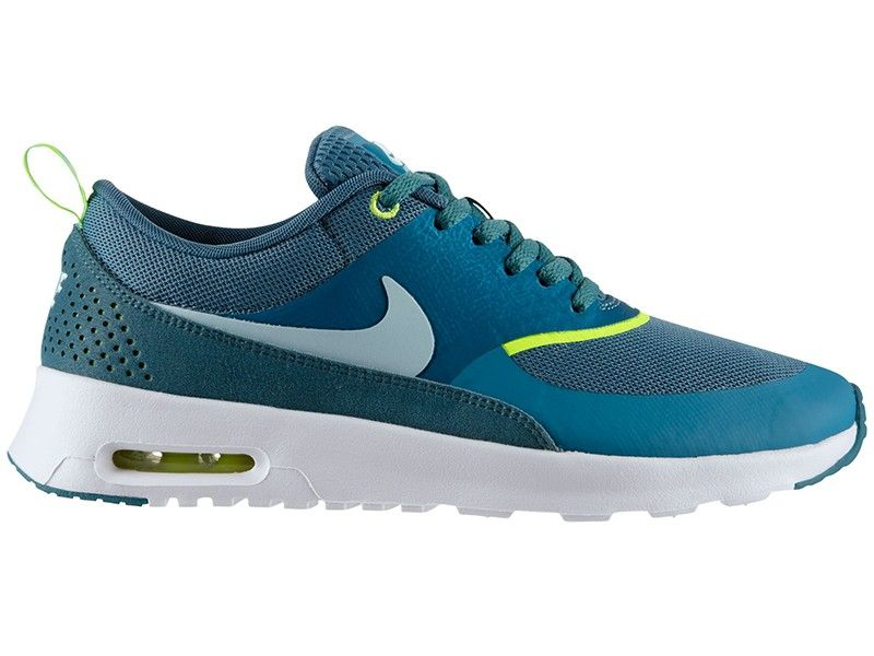 the best attitude 101b3 dbfba Nike Air Max Thea PRM Heren Schoenen Mineraal-Blauwgroen-Wit,Modern  trainers can bying to walk all over the world lightly.