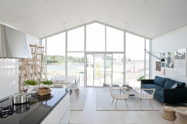Aitta - Keittiö ja olohuone | Asuntomessut