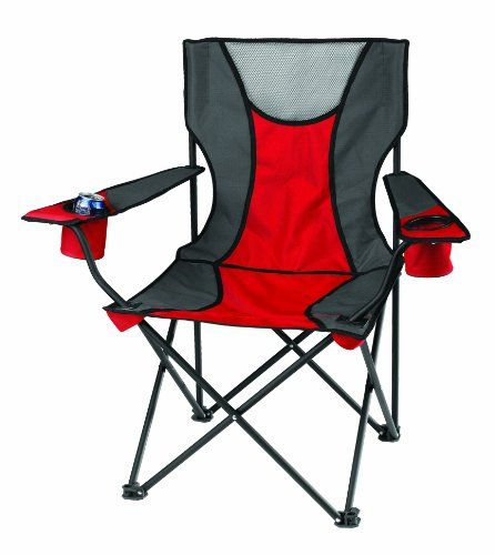 Introducing Signature Camp Chair Red Great Product And Follow Us To Get More Updates Camping Chairs Tailgate Chairs Chair