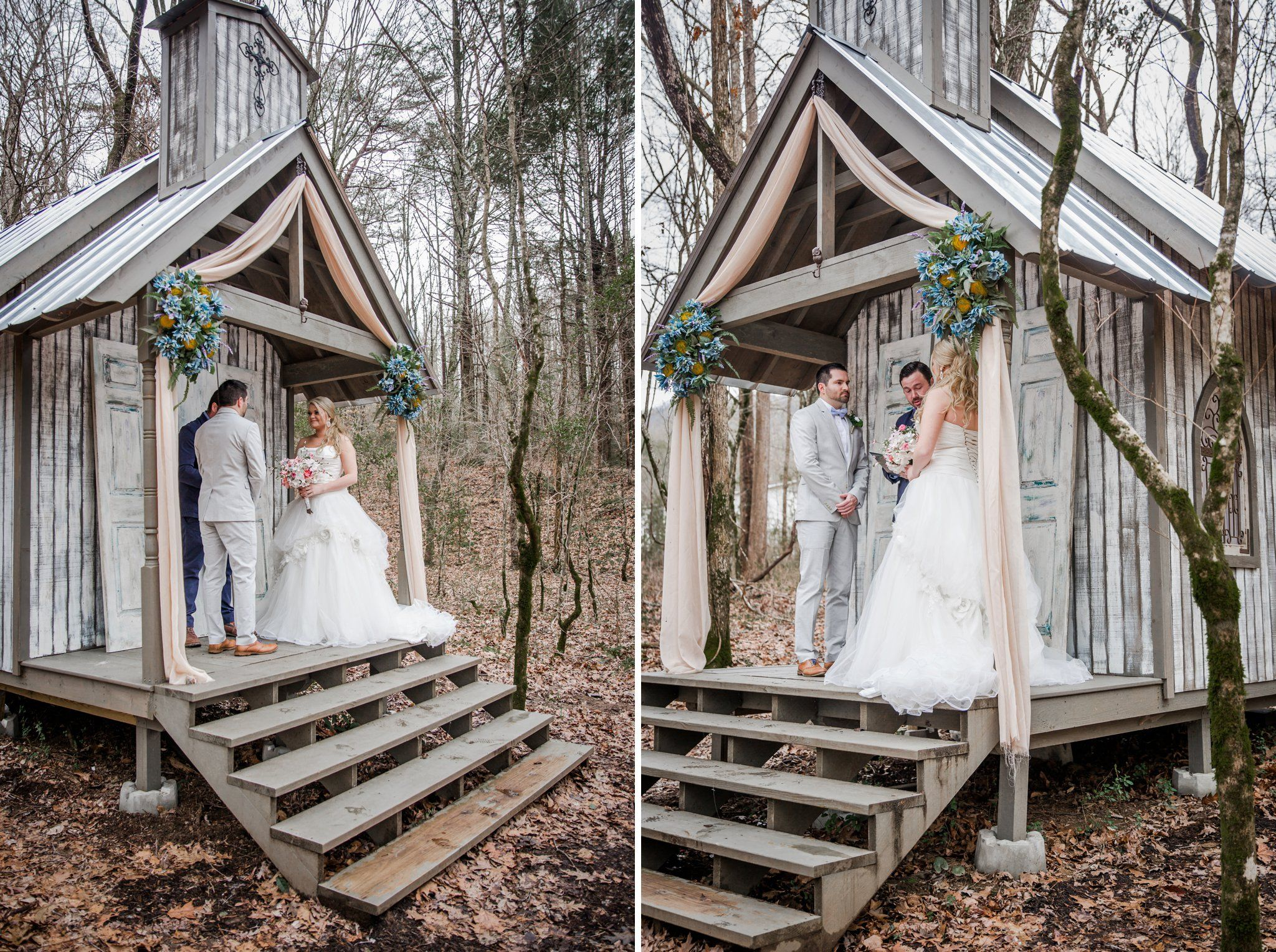 Intimate Smoky Mountain Wedding At Gatlinburg Wedding Chapel In 2020 Gatlinburg Weddings Smoky Mountain Wedding Chapel Wedding