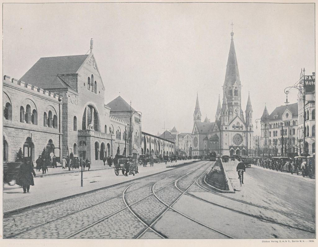 Hardenbergstrasse  K.Wilhemgedankniskirche 1904