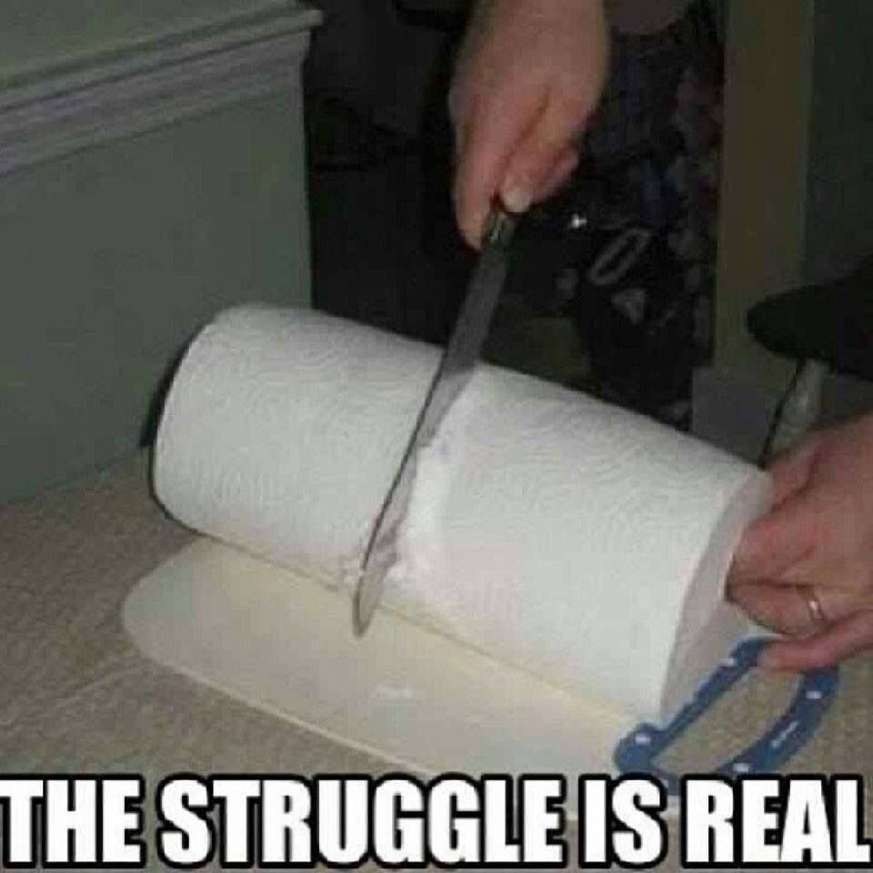 Sweat Towel Meme: The Struggle Is Real - Occupy Bacon