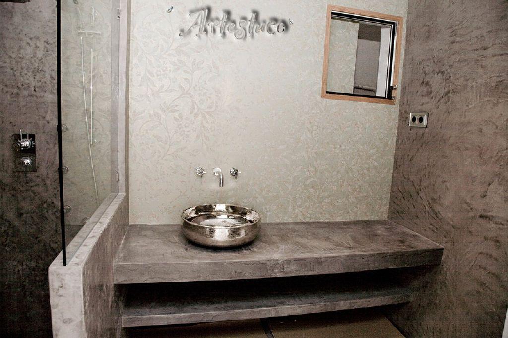 No es exactamente el ba o que quiero el que quiero es - Banos cemento pulido ...