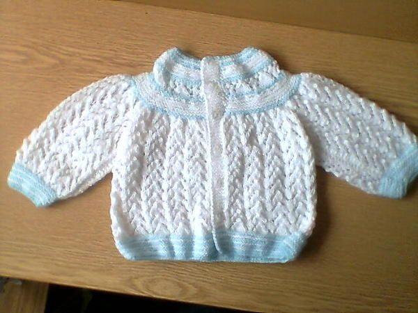 Tejidos a palillo ajuar para bebe imagui ideas para el - Labores de crochet para bebes ...