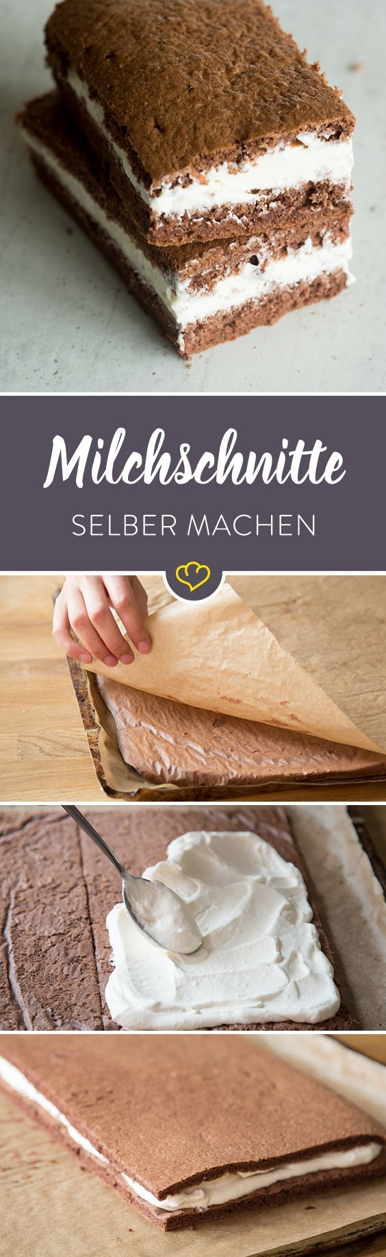 Photo of Schoko-Sahne-Biskuit à la Milchschnitte