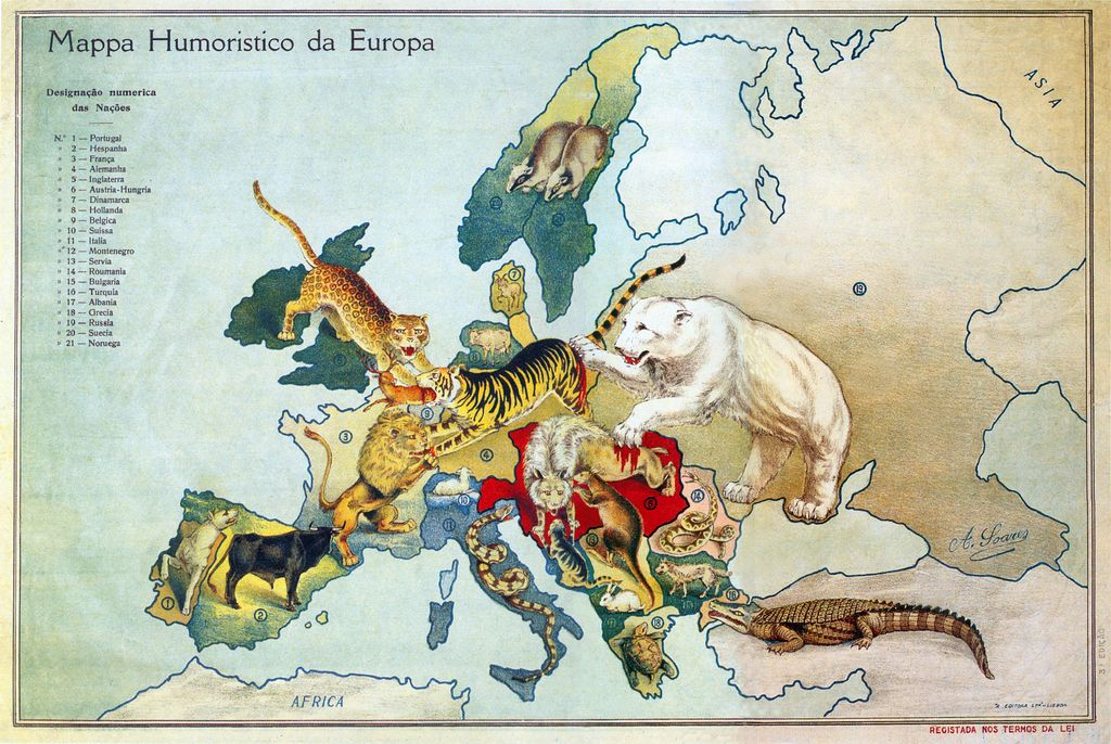 EUROPE ON THE EVE OF THE FIRST WORLD WAR Prva svetovna vojna - fresh germany map after world war 1