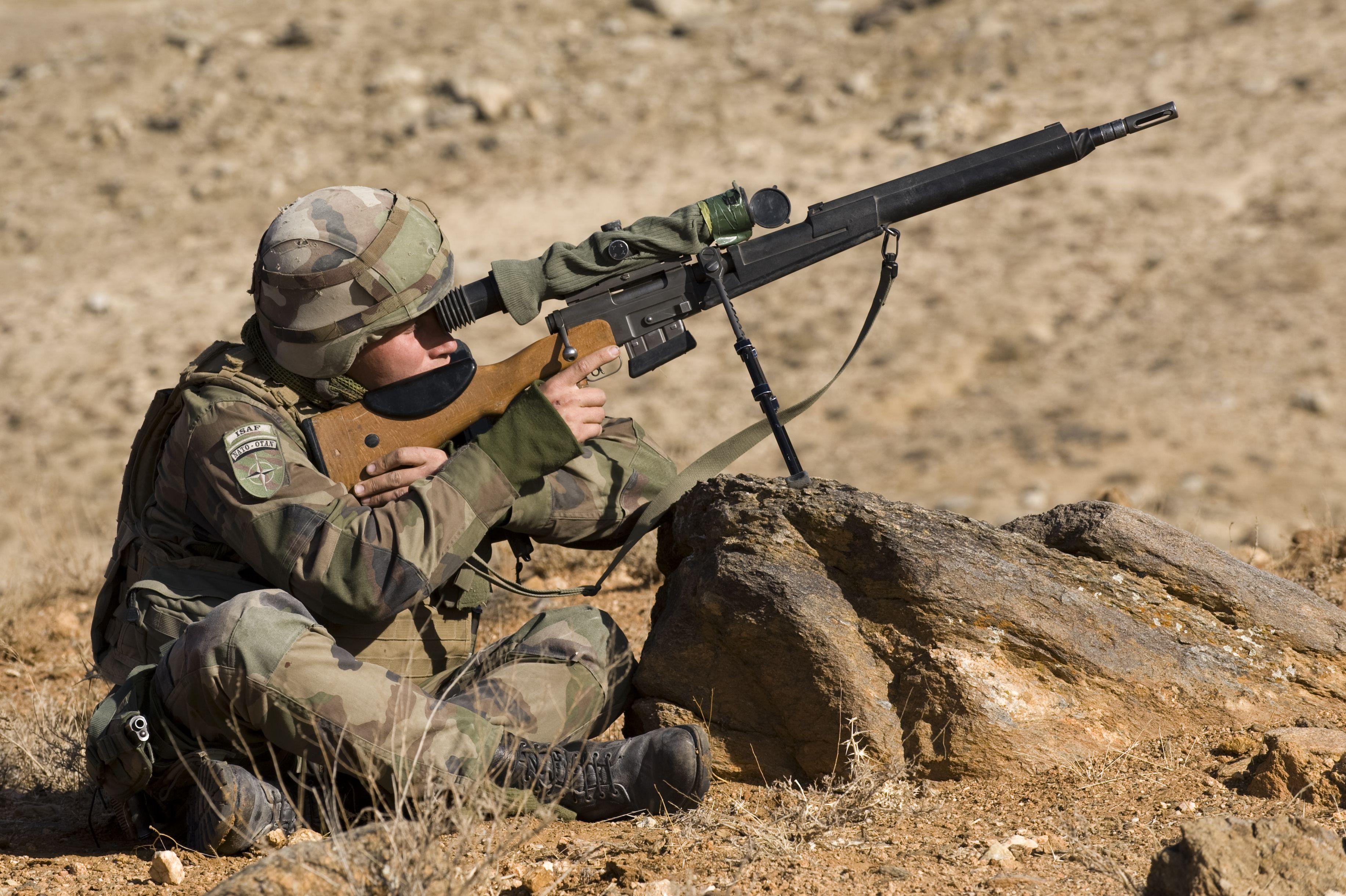 Audacieux Tireur de précision. © armée de Terre #infanterie   Armee de Terre MX-54
