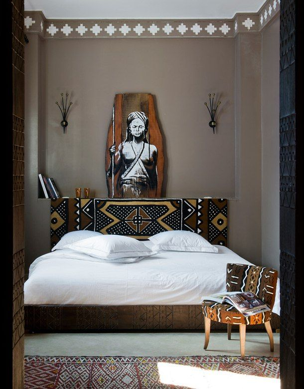 Ethno Style, Wohn Schlafzimmer, Schlafzimmer Ideen, Afrika Deko, Pinie,  Schöner Wohnen, Raum, Rund Ums Haus, Haus Interieu Design