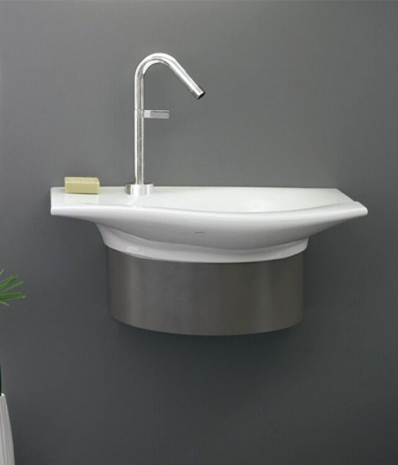 Small Bathroom Sinks The Lazy Womans Guide To Small Bathroom - Small rectangular undermount bathroom sink for bathroom decor ideas