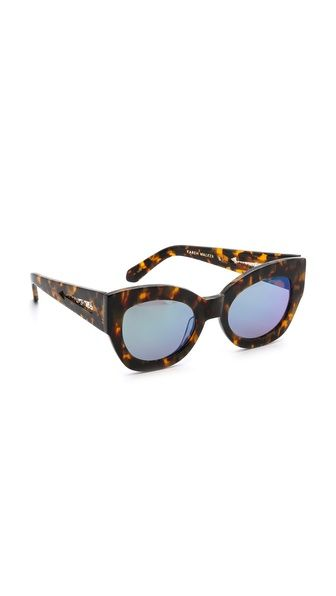 Karen Walker Superstars Collection Northern Lights Mirrored Sunglasses