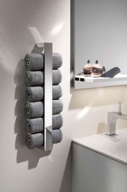 fraai en altijd onder handbereik met deze handdoekhouder van keuco aki interior bathroom. Black Bedroom Furniture Sets. Home Design Ideas