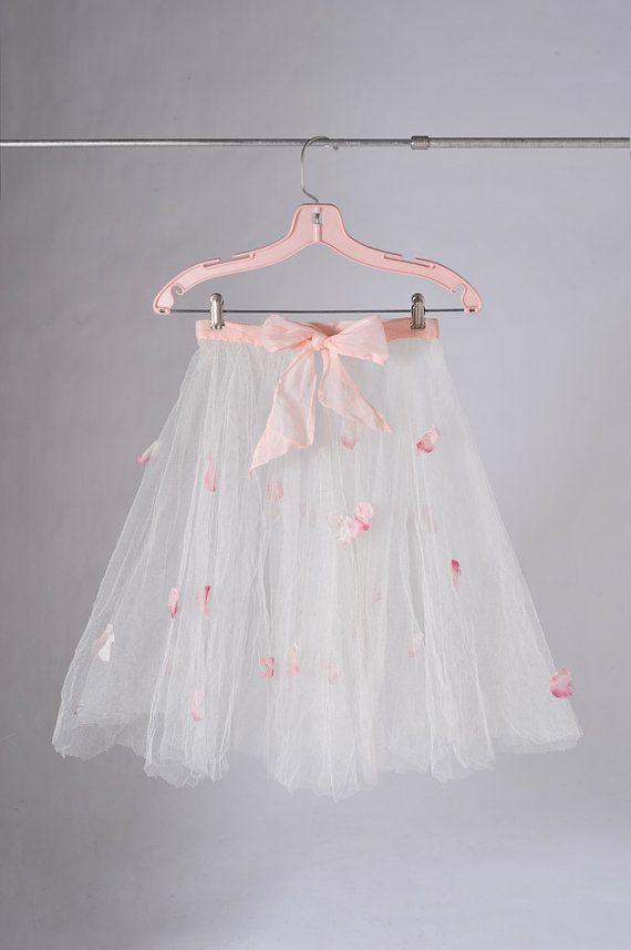 1950's Rose Petal Dance Skirt Costume