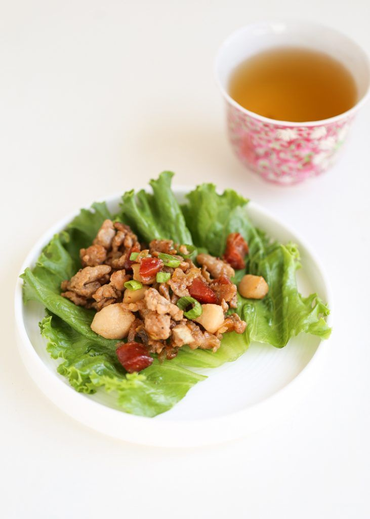 Chicken Lettuce Wraps | Thirsty For Tea