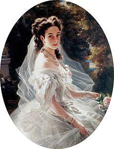 Pauline Sándor, Princess Metternich, by Franz Xavier Winterhalter