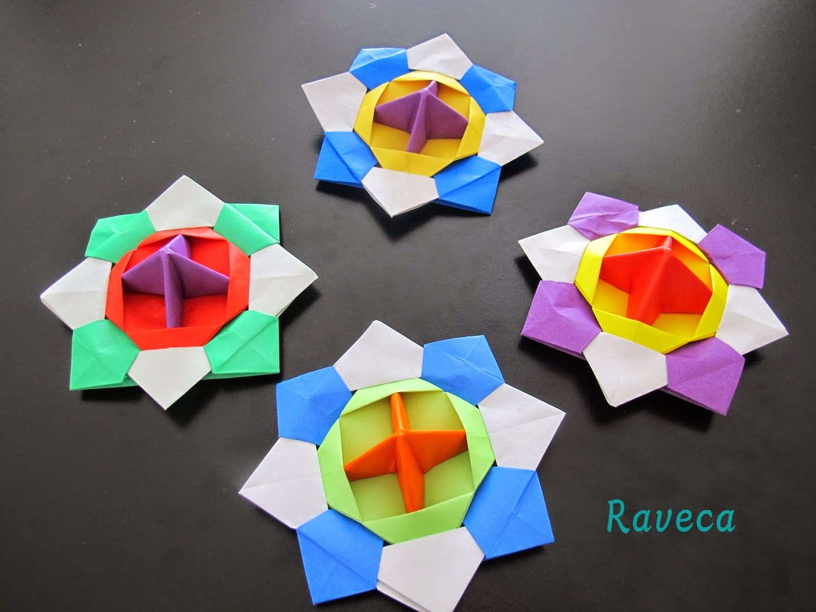 Origami Spinning Tops - Tutorial by MMKids | origami ... - photo#41