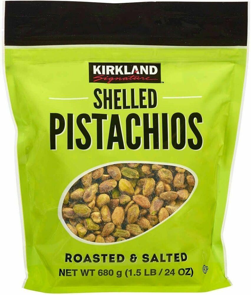 Kirkland Signature Shelled Pistachios 24 Oz Jumbo Bag Nuts