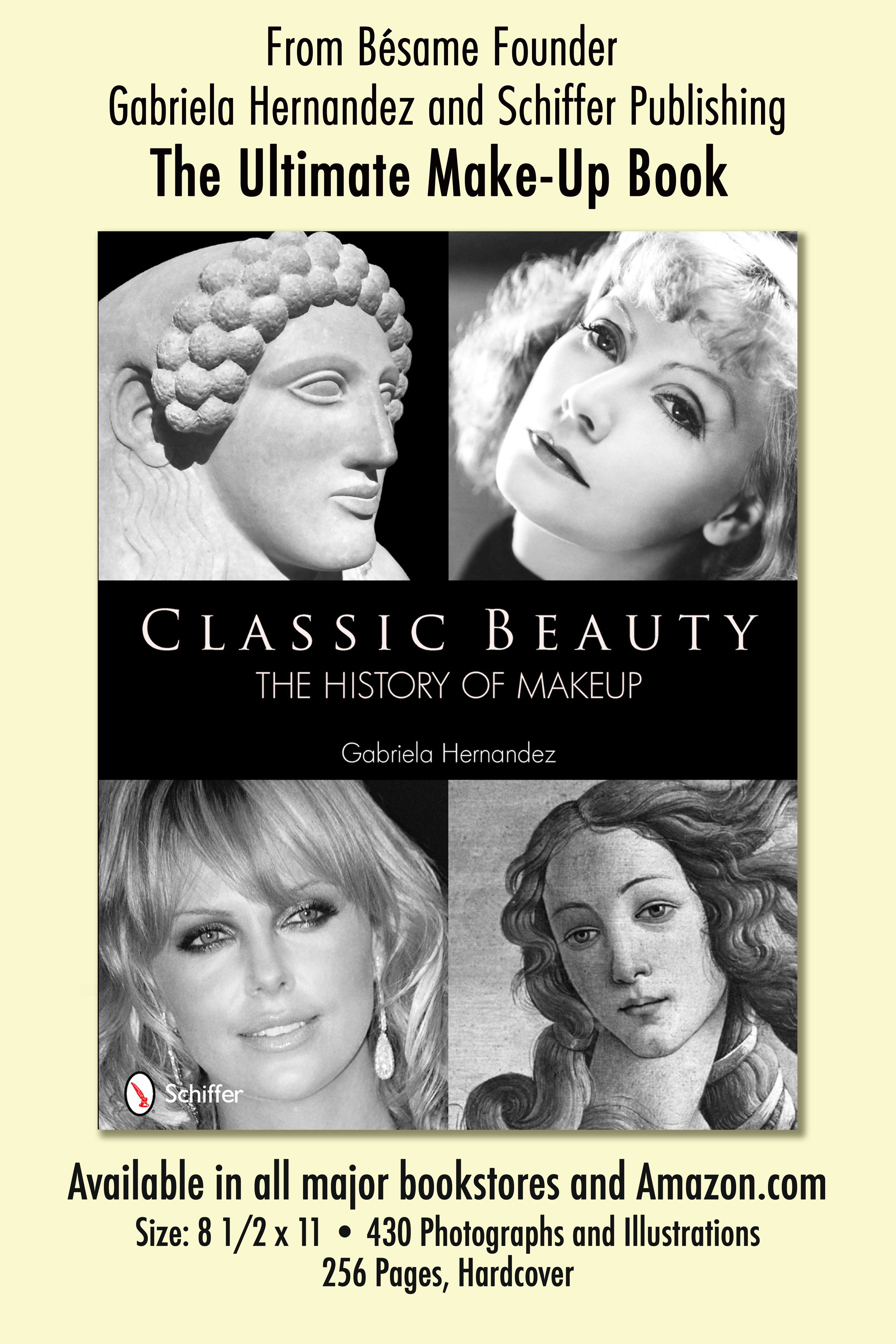 Curious about the history of makeup? Pick up a copy