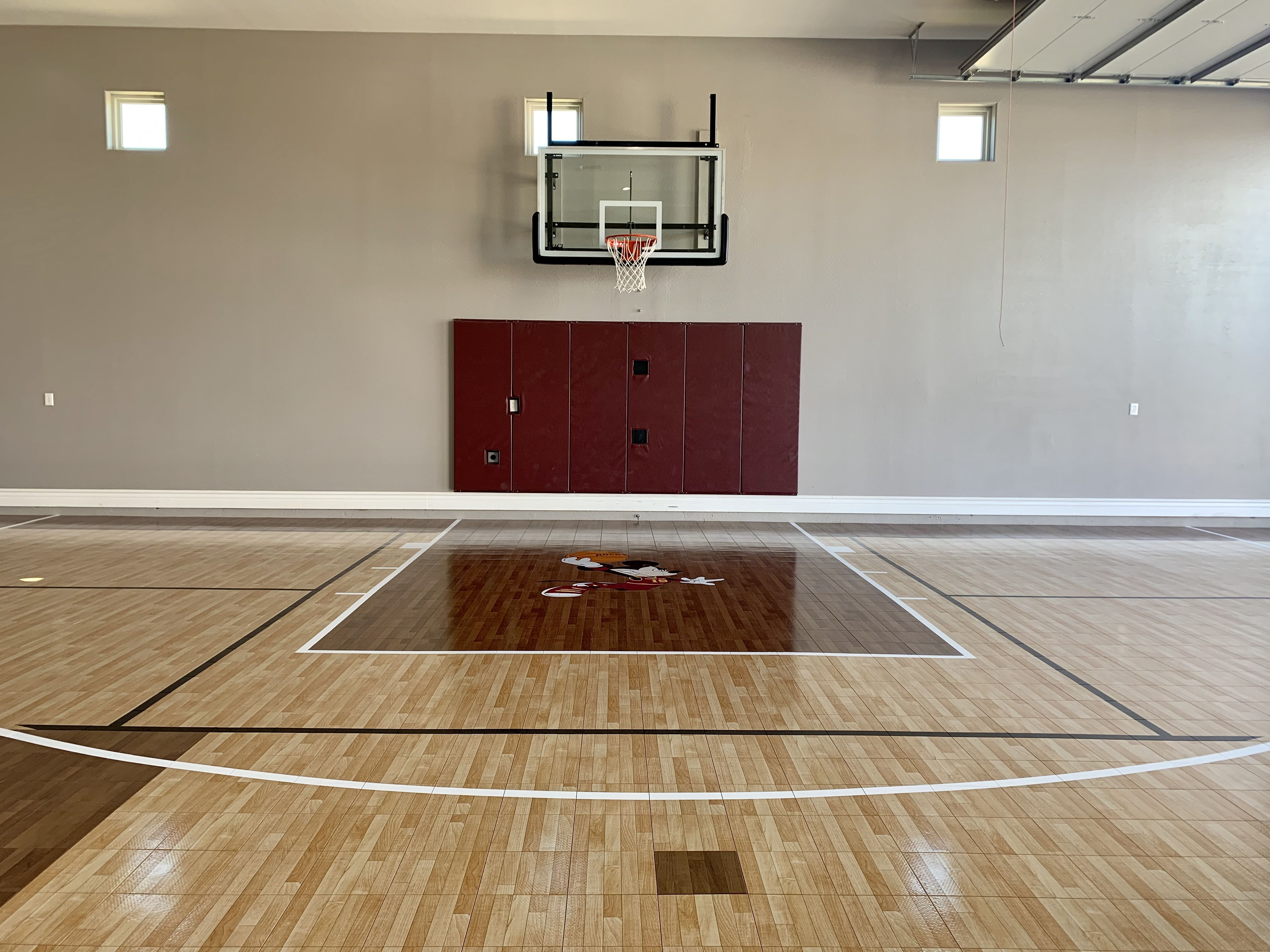 Indoor Basketball Court Backyard Guest Houses Dream House Indoor Basketball Court