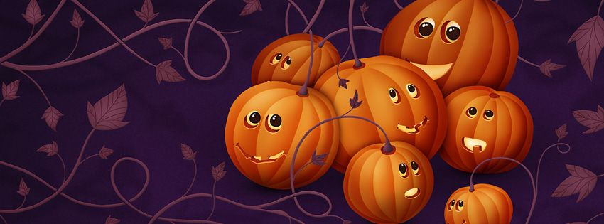 pumpkin facebook covers 2014 with charlie brown and snoopy the - Facebook Halloween Cover Photos