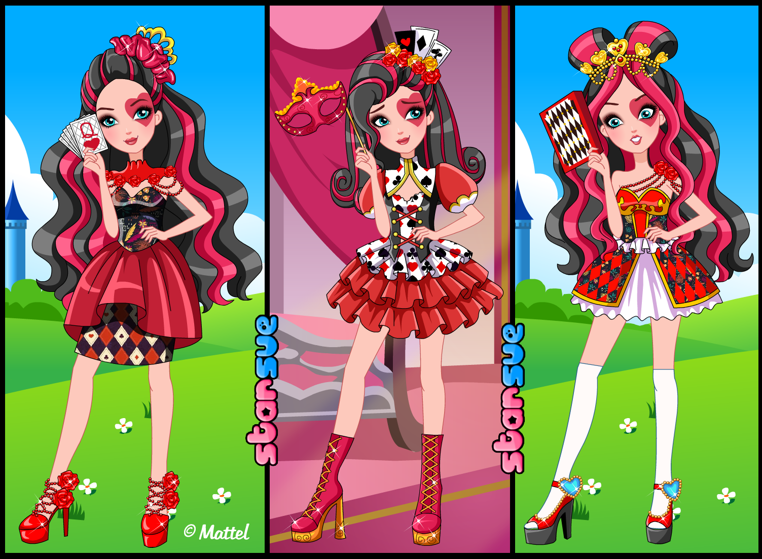 Dress up five nights at freedys - Ever After High Spring Unsprung Lizzie Hearts Dress Up Game Http Www