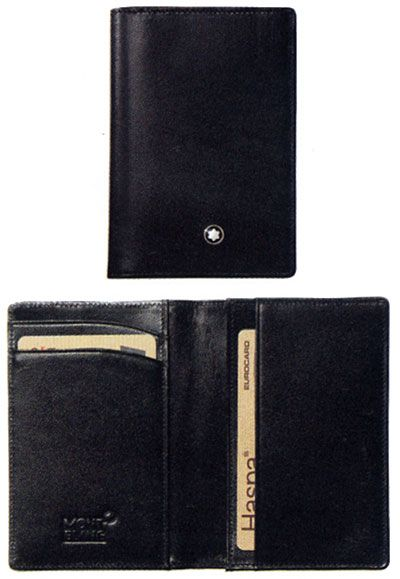 Elegante Cartera de Piel para Hombres;Stylish Leather Wallet for Men
