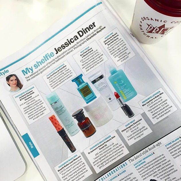 Ex-Vogue beauty editor and current editorial director of Birchboxuk Jessica Diner shares her bathroom shelfie in Time Out London.  Our Flash Rinse is her once a week staple as 'a gentle exfoliant to help my skin start afresh for the week.'