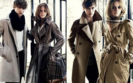 Classic Burberry... and Emma Watson, what could be better?