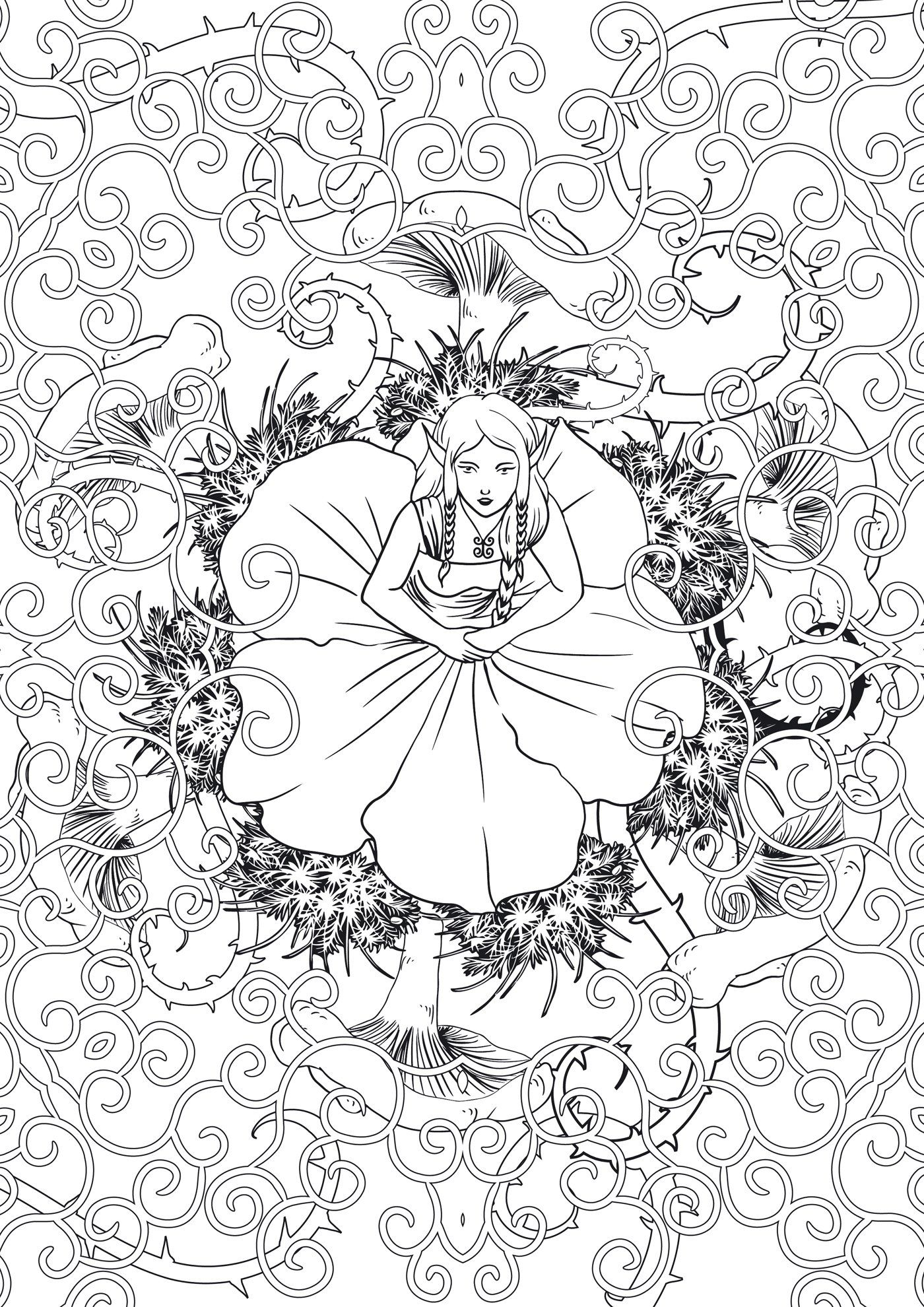 Pin on Adult Coloring Line Art