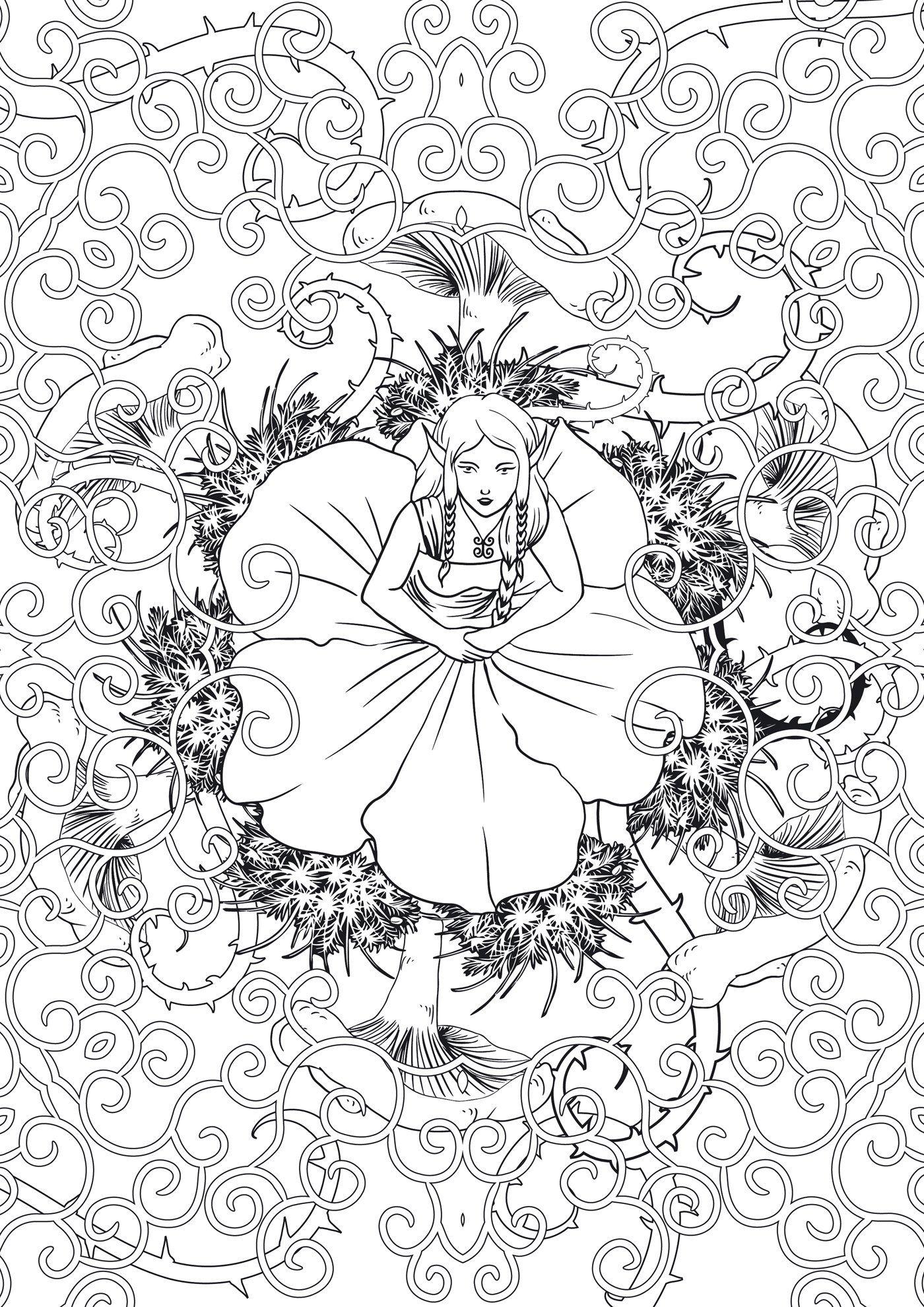 amazonfr forts feriques 100 coloriages anti stress marthe mulkey - Livre De Coloriage Anti Stress
